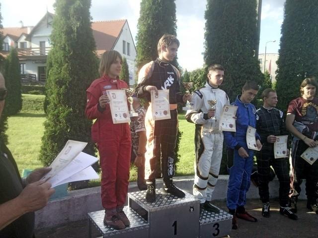 Pierwsze miejsce: Daniel Nawrot, drugie miejsce Bartosz Grześkowiak