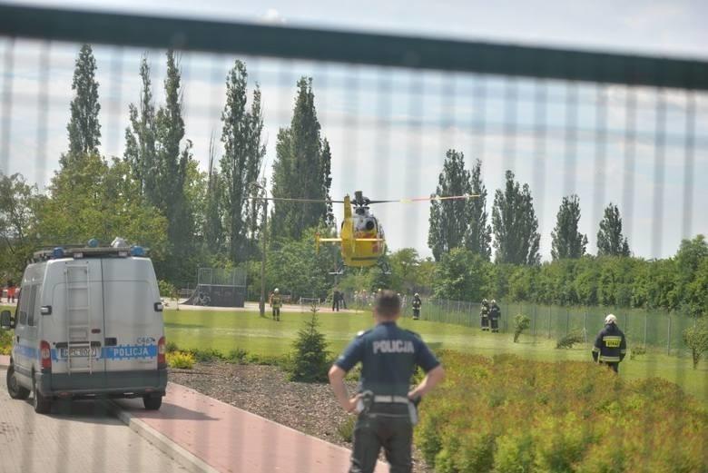 -  Na miejscu policjanci ustalili, że do szkoły wszedł...