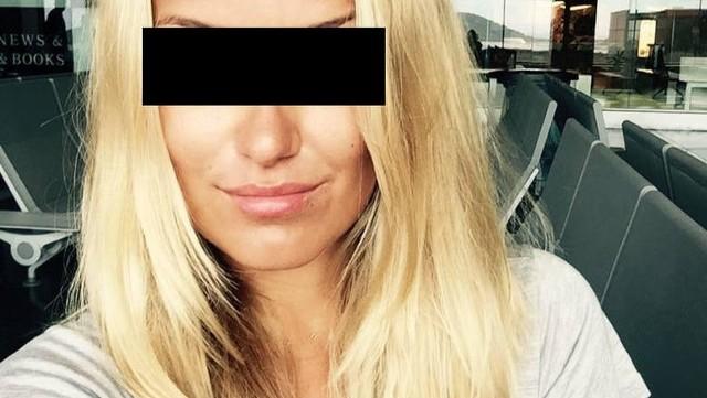 Oskarżona Magdalena K.
