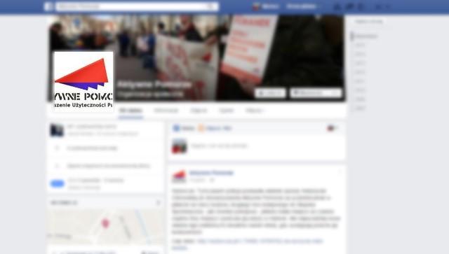 Działacze Aktywnego Pomorza komentują zdazenie na swoim profilu na Facebooku.