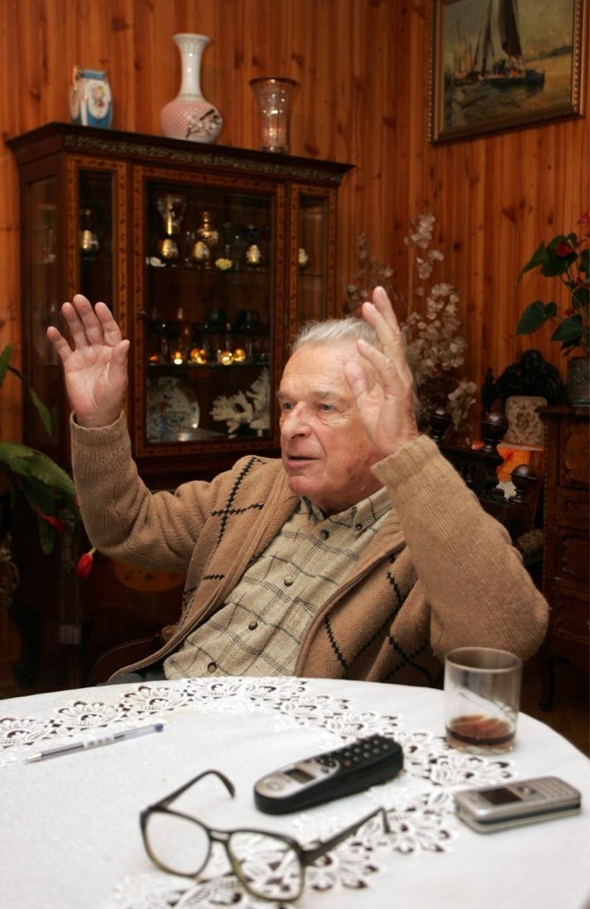 12.12.2008 warszawa wywiad z gen. czeslawem kiszczakiem czeslaw kiszczak fot. mateusz wroblewski / polskapresse