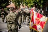 Nowi żołnierze w wielkopolskiej brygadzie Wojsk Obrony Terytorialnej. To była nietypowa przysięga