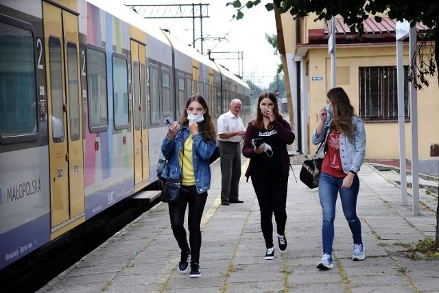 W ten weekend zakończy się pierwszy sezon kursów pociągu z Jasła do Krynicy