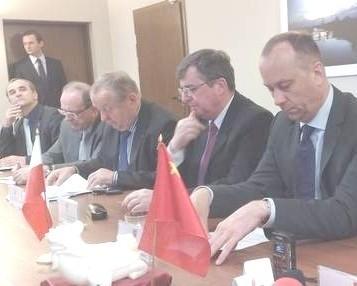 Dziś marszałek Marcin Jabłoński Marszałek podsumował misję samorządowo-gospodarczą na Expo 2010 w Szanghaju (fot. Leszek Kalinowski)