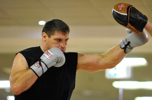 Trening Andrzeja Gołoty