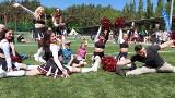 Dzień Dziecka na sportowo w Zielonej Górze. Mieszkańcy grali w futbol amerykański. Ale była zabawa! Zobaczcie na zdjęciach