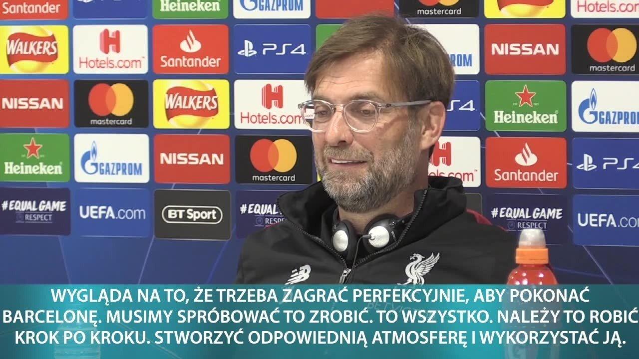 955aa811b Liverpool – Barcelona transmisja na żywo. Rewanżowy meczu półfinałowy Ligi  Mistrzów Liverpool – Barcelona już