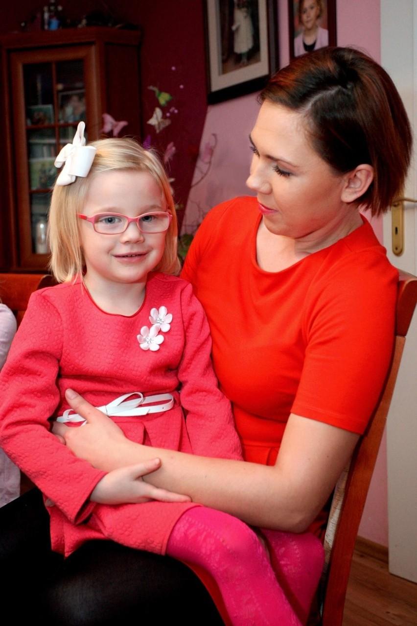 Daria, mama Leny szuka kontaktu z albinosami. - Chciałabym...