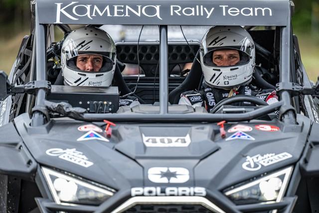 Załoga Kamena Rally Team start w Baja Poland zawsze traktuje niezwykle prestiżowo