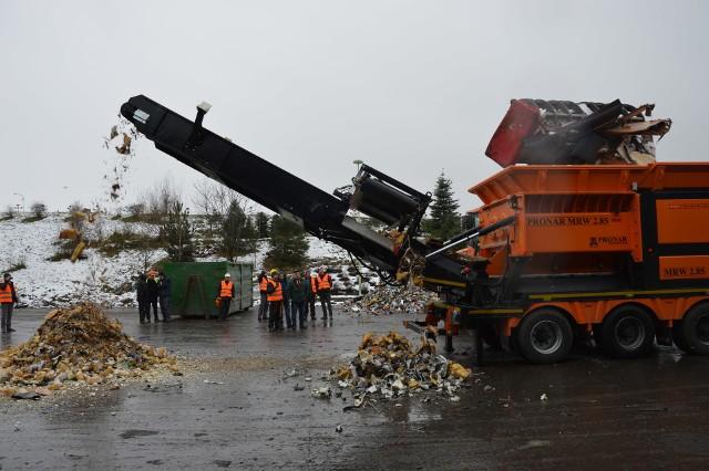Odpady z Prudnika trafiają na składowisko w Domaszkowicach pod Nysą.