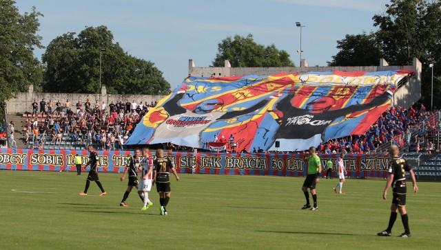 MOSiR jest obecnie na etapie przystosowywania stadionu do wymogów I ligi, do której awansowała Odra Opole.