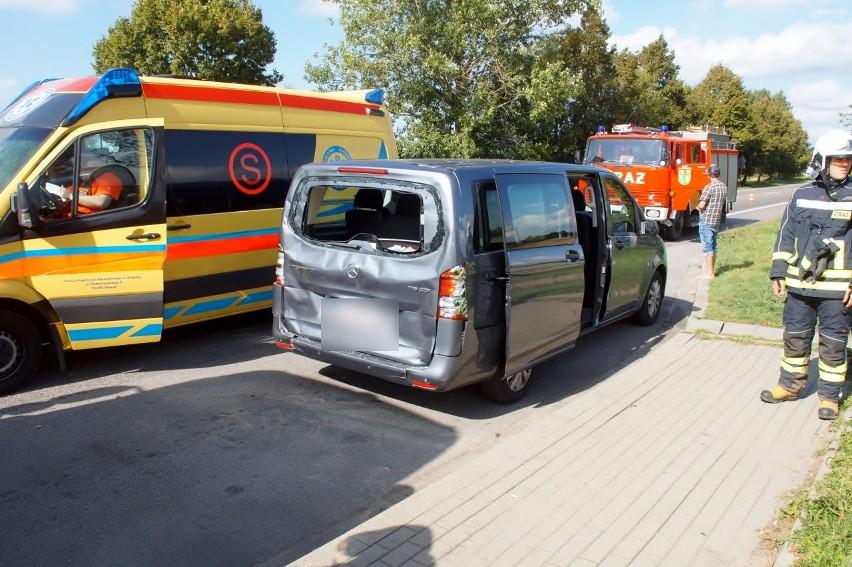 Na drodze krajowej nr. 6 w miejscowości Sycewice doszło do...