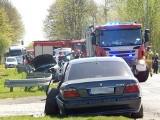 Wypadek na trasie Słupsk- Ustka we Włynkówku. Droga była zablokowana. 14-latka odwieziona do szpitala