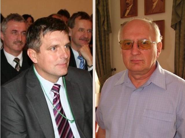 Andrzej Morawski (z prawej) zastąpił na stanowisku prezesa ZEC Tadeusza Legacekigo (z lewej).