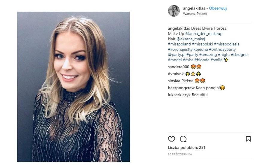 Angelika Kitlas to 22-letnia wicemiss Podlasia. Znalazła się...