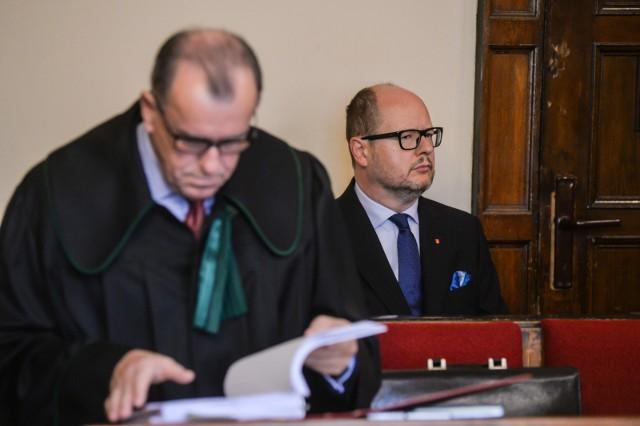 Proces Pawła Adamowicza rozpoczął się w piątek 29.09.2017 w Sądzie Rejonowym w Gdańsku
