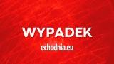 Wypadek pod Radomiem. W Milejowicach motocyklista uderzył w betonowy przepust, został poważnie ranny
