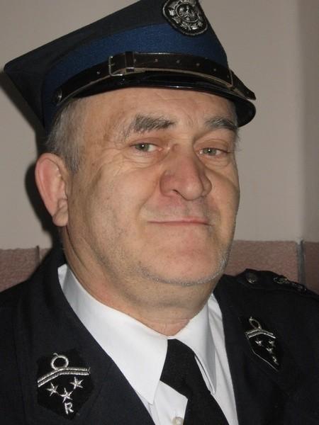 Edward Matuszak z OSP w Straszewie