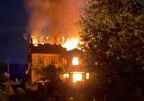 Duży pożar na Dolnym Śląsku. Spłonął cały dom (ZDJĘCIA)
