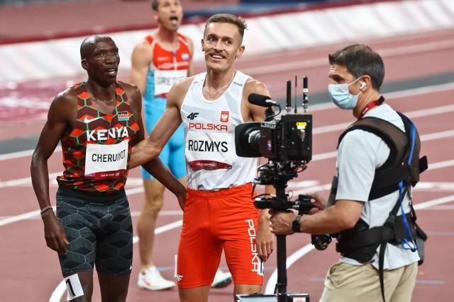 Michał Rozmys pobiegł w finale, choć w półfinale zgubił buta