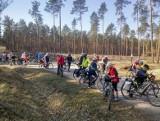Niezwykły rajd rowerowy w Ostrowcu. Bez wspólnego startu, ale z wieloma atrakcjami