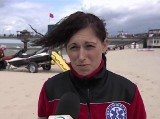 2-letnia dziewczynka porwana przez morze na plaży w Międzyzdrojach została uratowana przez ratowników WOPR [wideo]