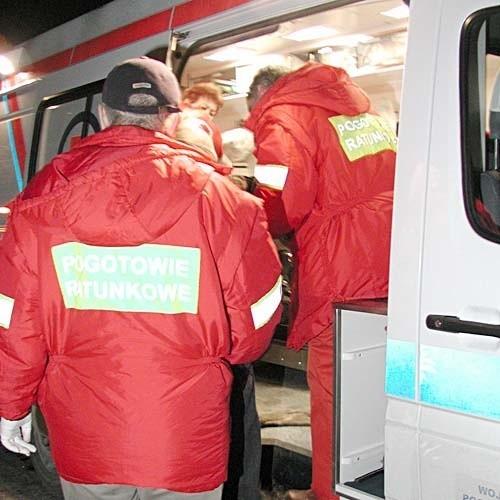 Ratownikom medycznym nie udało się odratować bezdomnego mężczyzny. To prawdopodobnie pierwsza ofiara mrozów w Białymstoku