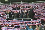 Inauguracja stadionu w Zabrzu, czyli Krystyna Loska i nowy hymn w cieniu rac [ZDJĘCIA]