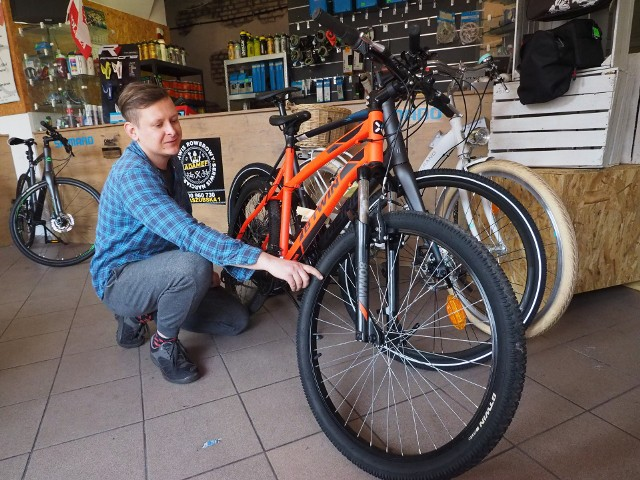 Ceny rowerów i napraw sprzętu rowerowego znacznie wzrosły