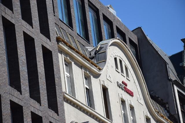 Hotel Diament w Katowicach w trakcie rozbudowy