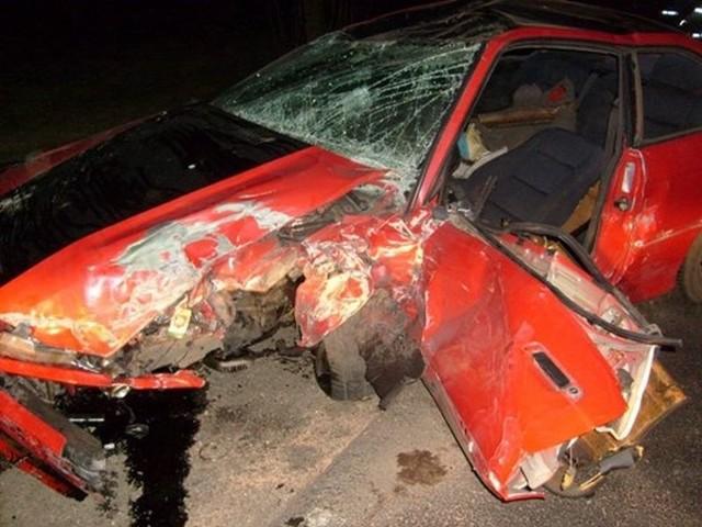 Wypadek w Warszawie. Zdjęcie ilustracyjne