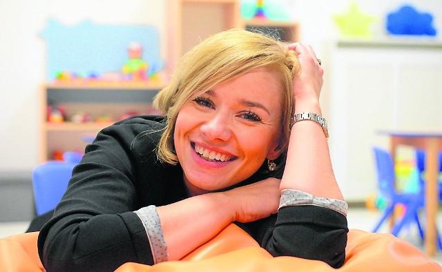 Agnieszka Klukowska w Innowacyjnym Klubie Rodzica.