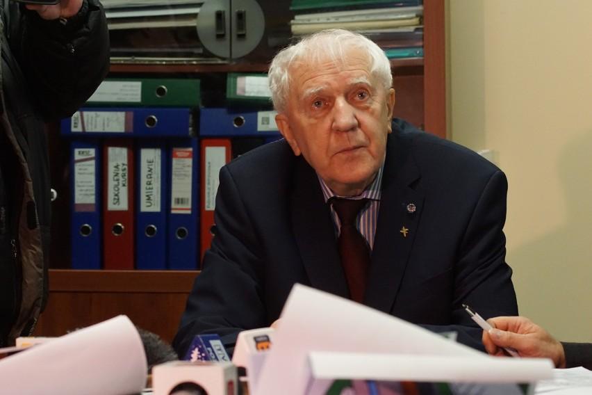 prof. Jacek Łuczak, szef Hospicjum Palium.