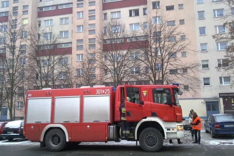 W akcji brały udział dwa zastępy strażaków.