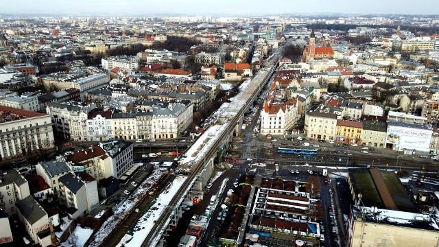 Trwa wielka budowa nowych estakad w centrum Krakowa