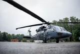 Policyjny śmigłowiec Black Hawk już w Kielcach. Ruszyły potężne ćwiczenia [ZDJĘCIA]
