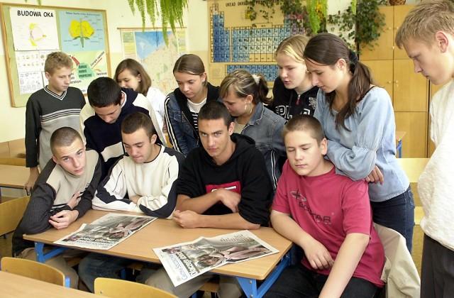 Uczniowie Gimnazjum nr 5 są poruszeni tragedią w Osetii. Chcą zorganizować pomoc.