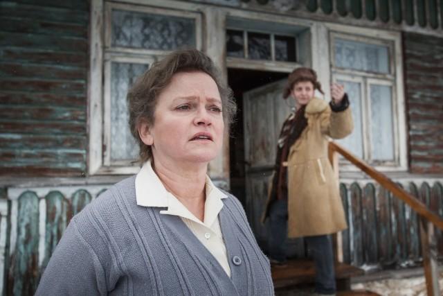 """""""Chrzciny"""" to komediodramat rodzinny, rozgrywający się w przełomowym dla polskiej historii momencie - w dniu wybuchu stanu wojennego. Na zdj. Katarzyna Figura"""