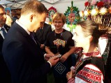 Spała. Dożynki prezydenckie 2018. Prezydent Andrzej Duda i Kurpie Zielone (zdjęcia)