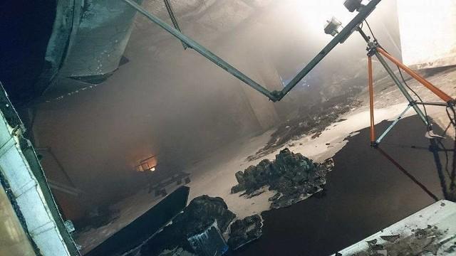 W tragicznym pożarze hurtowni na Dojlidach zginęło dwóch strażaków białostockiej PSP.
