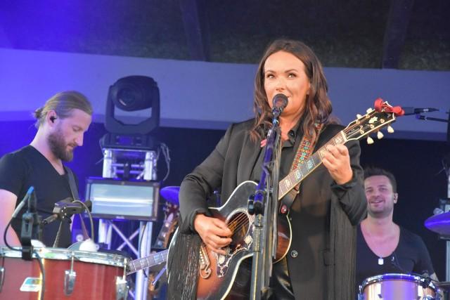 Kasia Kowalska była gwiazdą samorządowej imprezy w Żołędowie