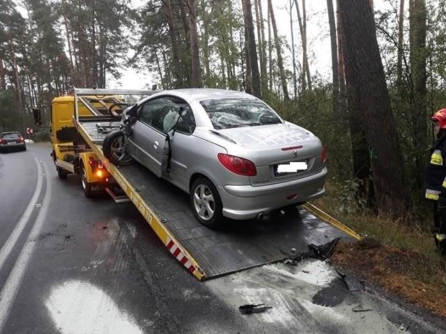 Do wypadku doszło w środę rano na DW nr 244