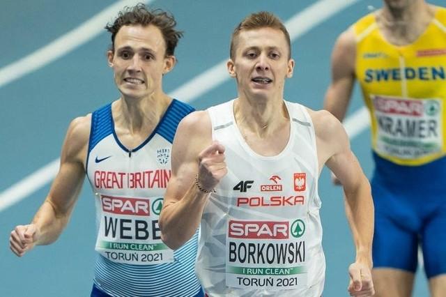 Mateusz Borkowski, wychowanek LKB Rudnik, wypełnił minimum na igrzyska olimpijskie w Tokio.