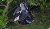 Wypadek w Jaworzniku. Kierowca osobówki z ciężkimi obrażeniami trafił do szpitala