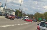 Białystok. Wypadek na skrzyżowaniu ulicy Poleskiej i Włókienniczej. Ranna 35-latka trafiła do szpitala