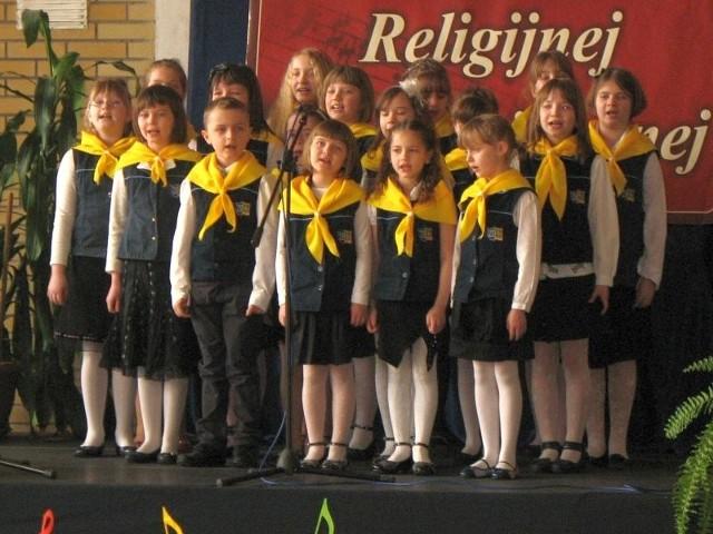 Wśród klas I-III szkół podstawowych wygrał zespół Boże Iskierki z Kleosina