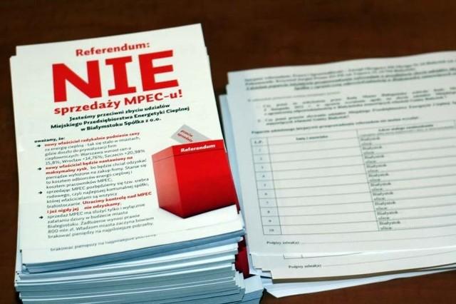 Do 8 marca inicjatorzy mają czas na złożenie wniosku o referendum wraz z zebranymi podpisami
