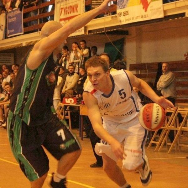Koszykówka. Mecz II ligi. Pogon Prudnik - Basket Pleszew 102:72