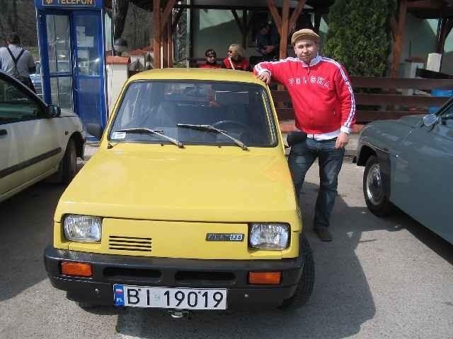Marek Kuc, prezes Stowarzyszenia Miłośników Starej Motoryzacji i Techniki w Białymstoku