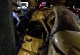 Śmiertelny wypadek na Strzegomskiej we Wrocławiu. Algierczyk uderzył w betonowy filar